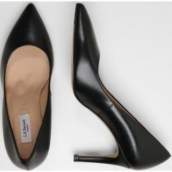 LK Bennett FLORET Czółenka black. Czarne buty ślubne damskie LK Bennett, z materiału. Za 1069,00 zł.