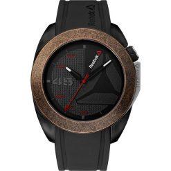 Zegarki męskie: Zegarek kwarcowy w kolorze brązowo-czarnym