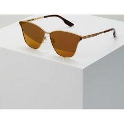 McQ Alexander McQueen Okulary przeciwsłoneczne goldcoloured/bronzecoloured. Żółte okulary przeciwsłoneczne damskie lenonki McQ Alexander McQueen. W wyprzedaży za 501,75 zł.