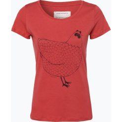T-shirty damskie: ARMEDANGELS – T-shirt damski, czerwony