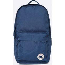 Converse - Plecak. Niebieskie plecaki męskie Converse, w paski, z materiału. Za 129,90 zł.