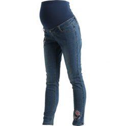 Rurki damskie: DP Maternity SUPER Jeans Skinny Fit mid wash
