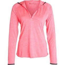 Under Armour TECH TWIST Koszulka sportowa marathon red. Czerwone t-shirty damskie Under Armour, xs, z poliesteru, z długim rękawem. W wyprzedaży za 151,20 zł.