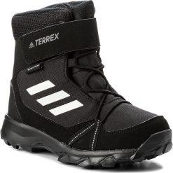 Śniegowce adidas - Terrex Snow Cf Cp Cw K S80885 Cblack/Cwhite/Grefou. Czarne śniegowce damskie marki Adidas, z materiału. Za 379,00 zł.