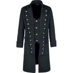 H&R London Classic Coat Płaszcz czarny. Czarne płaszcze na zamek męskie H&R London, xl, z materiału. Za 509,90 zł.