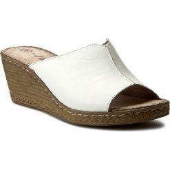 Chodaki damskie: Klapki JANA - 8-27210-28 White 100