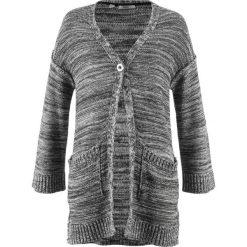 Sweter rozpinany oversize bonprix szary melanż. Białe kardigany damskie marki Reserved, l. Za 49,99 zł.