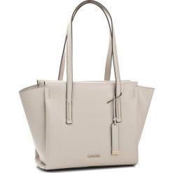 Shopper bag damskie: Torebka CALVIN KLEIN BLACK LABEL – Frame Medium Shopper K60K603979  000