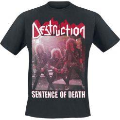 T-shirty męskie: Destruction Sentence of Death T-Shirt czarny
