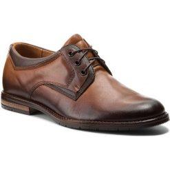 Półbuty SERGIO BARDI - Arese SS127320018GR 104. Brązowe buty wizytowe męskie Sergio Bardi, z materiału. W wyprzedaży za 189,00 zł.