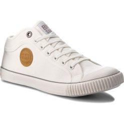 Trampki BIG STAR - AA174016 White. Białe tenisówki męskie BIG STAR, z gumy. Za 109,00 zł.