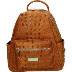 Plecak - 4-78-M C CUOI. Żółte plecaki damskie Venezia, ze skóry. Za 195,00 zł.
