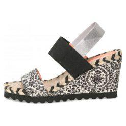 Desigual Sandały Damskie Ibiza Save The Que 39 Czarny. Czarne sandały damskie marki Desigual. W wyprzedaży za 229,00 zł.