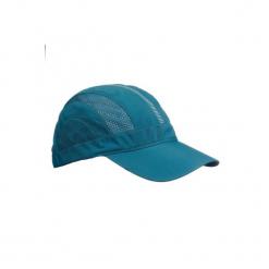 Czapka trekkingowa z daszkiem TREK 700. Niebieskie czapki z daszkiem damskie FORCLAZ, z materiału. Za 24,99 zł.