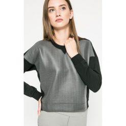 Adidas Performance - Bluza Away Day. Szare bluzy damskie marki adidas Performance, l, z bawełny, bez kaptura. W wyprzedaży za 119,90 zł.