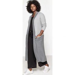 Swetry damskie: Dwukolorowy długi sweter