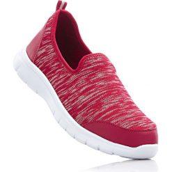 Buty wsuwane bonprix czerwony. Szare buty sportowe damskie marki bonprix, z materiału. Za 79,99 zł.