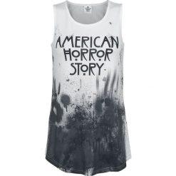 Topy damskie: American Horror Story Blood Rain Top damski czarny/biały