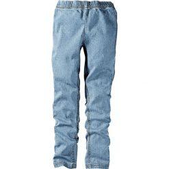 """Jeansy dziewczęce: Legginsy dżinsowe bonprix niebieski """"bleached"""""""