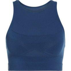 Free People SCULPT CROP Top blue. Niebieskie topy damskie Free People, xs, z elastanu. W wyprzedaży za 159,20 zł.