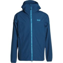 Jack Wolfskin COLOURBURST Kurtka Outdoor poseidon blue. Czarne kurtki trekkingowe męskie marki Jack Wolfskin, l, z poliesteru, z kapturem. W wyprzedaży za 468,30 zł.