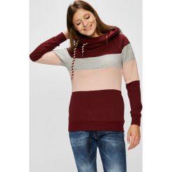 Only - Bluza. Szare bluzy z kapturem damskie marki ONLY, s, z bawełny, casualowe, z okrągłym kołnierzem. Za 169,90 zł.