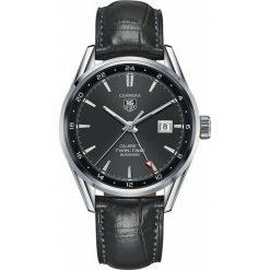 ZEGAREK TAG HEUER CARRERA WAR2012.FC6326. Czarne zegarki męskie marki KALENJI, ze stali. Za 11820,00 zł.