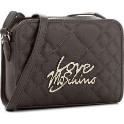 Torebka LOVE MOSCHINO - JC4056PP14LF0001 Grigio. Szare listonoszki damskie Love Moschino. W wyprzedaży za 399,00 zł.