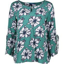 Bluzki asymetryczne: Koszulka w kolorze zielonym