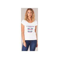 T-shirty z krótkim rękawem Yurban  ERETOLE. Białe t-shirty damskie Yurban, l. Za 71,20 zł.