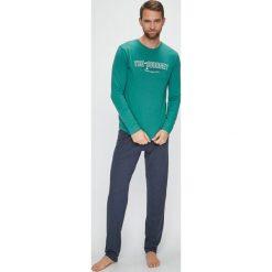 Henderson - Piżama Focus. Szare piżamy męskie Henderson, l, z nadrukiem, z bawełny. Za 99,90 zł.