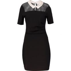 Sukienki hiszpanki: Kaffe RAY INDIA Sukienka z dżerseju black deep