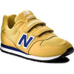 Trampki chłopięce: Sneakersy NEW BALANCE – KV500YLY Żółty