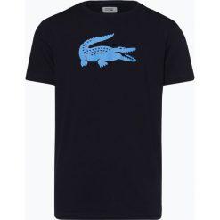 Lacoste - T-shirt męski, niebieski. Szare t-shirty męskie marki Lacoste, z bawełny. Za 179,95 zł.