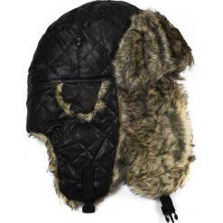Czapka damska Uszanka Dama pik brązowa. Brązowe czapki zimowe damskie Art of Polo. Za 37,60 zł.