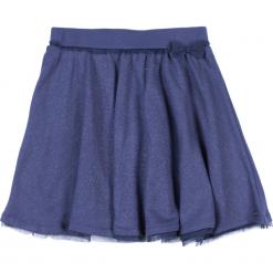Spódnica. Niebieskie spódniczki dziewczęce z falbankami Style, z bawełny. Za 29,90 zł.