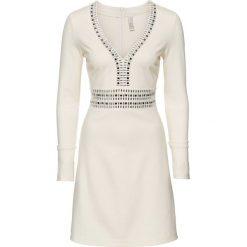 Sukienki: Sukienka na party bonprix kremowy