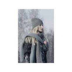 CZAPKA - GREY NORDIC. Szare czapki zimowe damskie marki Proudly designed, z wełny. Za 79,00 zł.
