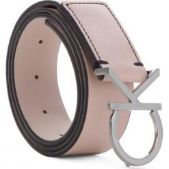 Pasek Damski CALVIN KLEIN - Ck Logo Belt 3.5CM K60K604358 628. Czerwone paski damskie Calvin Klein, w paski, ze skóry. Za 229,00 zł.