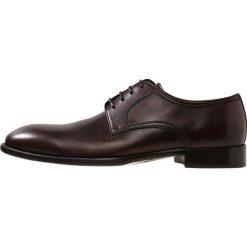 Lottusse Eleganckie buty old mocha. Brązowe buty wizytowe męskie Lottusse, z materiału, na sznurówki. Za 1009,00 zł.