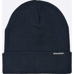 Dickies - Czapka. Szare czapki zimowe męskie marki Dickies, na zimę, z dzianiny. W wyprzedaży za 49,90 zł.