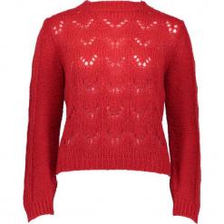 Sweter w kolorze czerwonym. Czerwone swetry klasyczne damskie Gottardi, s, ze splotem. W wyprzedaży za 173,95 zł.