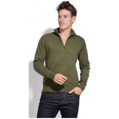 William De Faye Sweter Męski Xxl Zielony. Czarne swetry klasyczne męskie marki bonprix, m, z aplikacjami, z polaru. Za 259,00 zł.