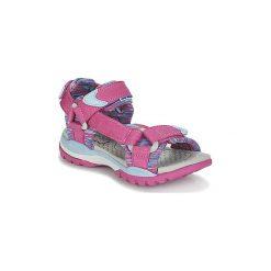 Sandały sportowe Dziecko  Geox  J BOREALIS G. A. Czerwone buty sportowe dziewczęce marki Geox. Za 191,20 zł.