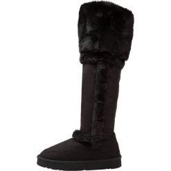 Buty zimowe damskie: Buffalo 334803 Muszkieterki black