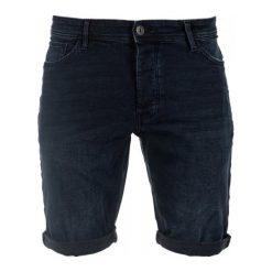 Q/S Designed By Szorty Męskie 32, Ciemnoniebieski. Czarne bermudy męskie Q/S designed by, z jeansu, klasyczne. W wyprzedaży za 169,00 zł.