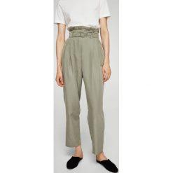 Spodnie z wysokim stanem: Mango – Spodnie Gabiten