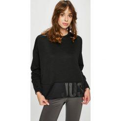 Nike - Bluza. Czarne bluzy rozpinane damskie Nike, l, z dzianiny, bez kaptura. W wyprzedaży za 159,90 zł.