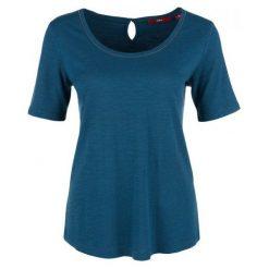 S.Oliver T-Shirt Damski 36 Niebieski. Niebieskie t-shirty damskie S.Oliver, s. Za 59,00 zł.
