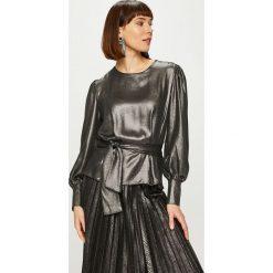 Answear - Bluzka Night Fever. Czarne bluzki wizytowe marki bonprix, eleganckie. Za 149,90 zł.